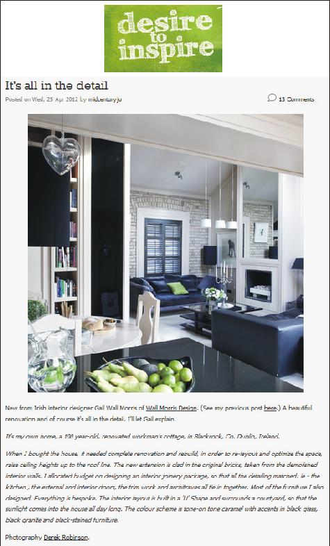 w a l l m o r r i s d e s i g n. Black Bedroom Furniture Sets. Home Design Ideas